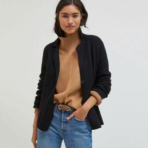 NWT Anthropologie Gracie Wool Blend Sweater Blazer